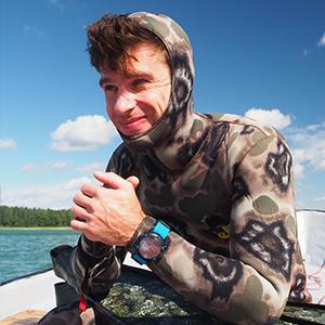 Dominik Zając, freediver, nurek techniczny, Master Scuba Diver Trainer