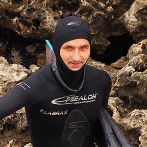 Marcin Baranowski, profesor fizjologii, freediver, rekordzista Polski w stałym balaście